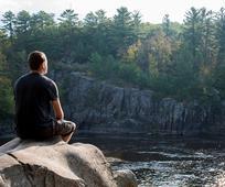 Meditation by a River